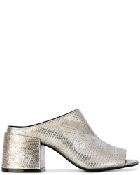 MM6 MAISON MARGIELA Metallic Mules