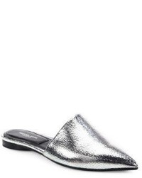 Michael Kors Michl Kors Collection Darla Metallic Leather Mules