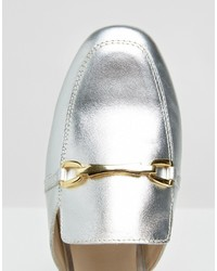 a0aba44bf1d ... Asos Movie Leather Mule Loafers ...