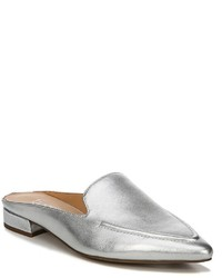 Franco Sarto Sela Metallic Leather Mules