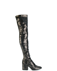 4a911a77909 Strategia Metallic Knee Boots