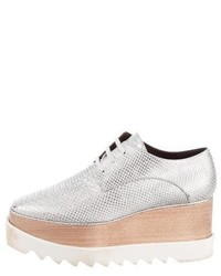 Stella McCartney Elyse Metallic Oxfords