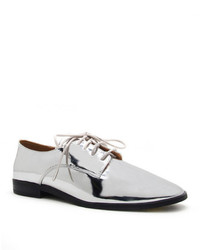 Qupid Malik Lace Up Oxford Flat