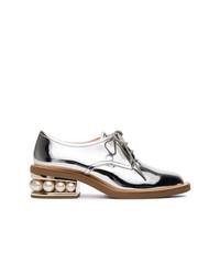 Silver casati pearl 35 derby shoes medium 8108317