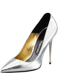 Tom Ford Mirror Leather Pointy Toe Pump