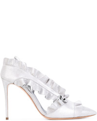 Casadei Ruffled Pumps