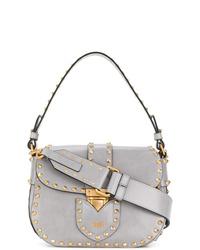 Moschino Studded Satchel Bag
