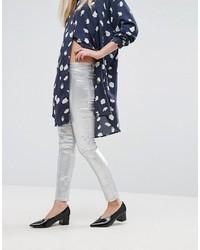 Metallic skinny jeans medium 1213531