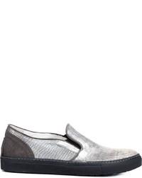 Fiorentini baker metallic slip on sneakers medium 596928