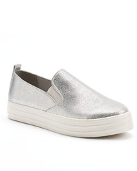 Juicy Couture Metallic Slip On Sneakers