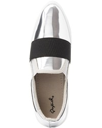 Charlotte Russe Qupid Pointed Toe Slip On Sneakers