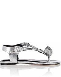 Isabel Marant Jarley Craquel Leather Sandals