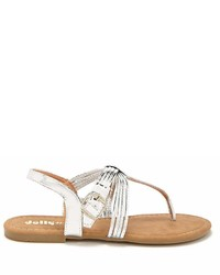 Forever 21 Yoki Shoes Strappy Thong Sandals