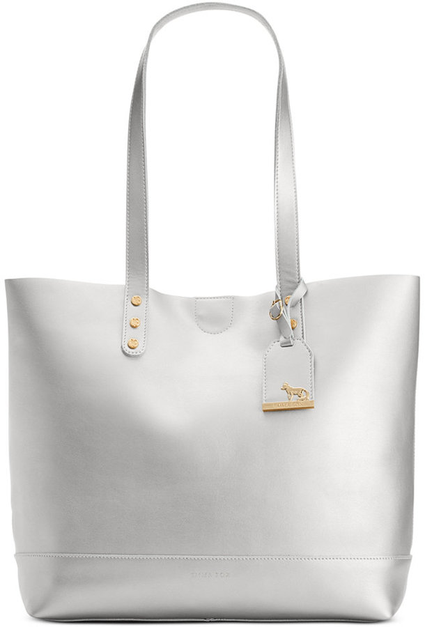 Bags Emma Fox Wakefield Smooth Leather Tote