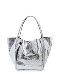 Proenza Schouler L  Super Glass Metallic Leather Tote