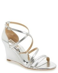 Badgley Mischka Bonanza Strappy Wedge Sandal