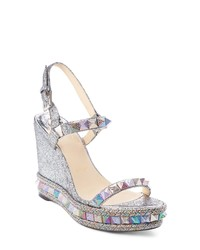 6d4c3cdb5a60 Women s Silver Sandals by Christian Louboutin