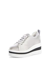 Miu Miu Platform Wedge Sneaker