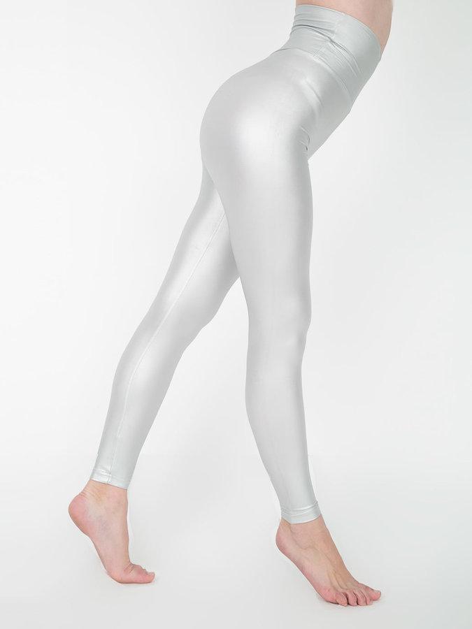 fb9df126e542bc American Apparel Shiny High Waist Legging, $23 | American Apparel ...