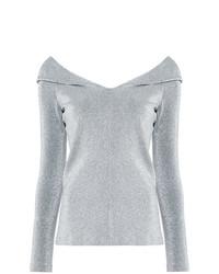 Metallic effect blouse medium 7703466