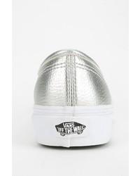 c77c46178e ... Vans Authentic Metallic Leather Low Top Sneaker
