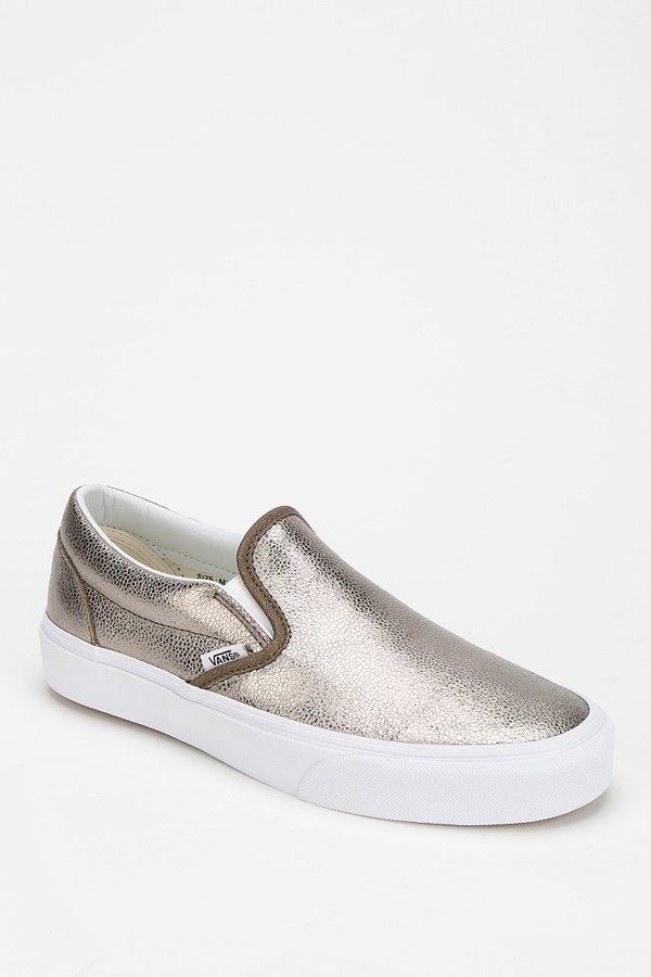 Metallic Slip On Vans Outlet Store, UP TO 58% OFF