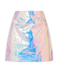 0030171ef0 Isabel Marant Kira Metallic Mini Skirt $970 Free US shipping AND returns!  Sies Marjan Desiree Iridescent Cotton Mini Skirt
