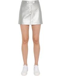 Matte vinyl mini skirt medium 3706394