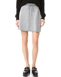 Metallic knit skirt medium 842855