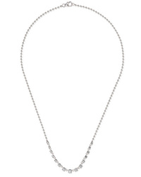 Jemma Wynne 18 Karat White Gold Diamond Necklace