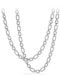 David Yurman 95mm Cushion Link Chain Necklace 36
