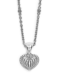 Beloved fluted heart locket necklace medium 3686402