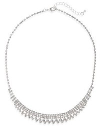 Nina Crystal Frontal Necklace