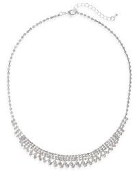 Nina Crystal Frontal Necklace