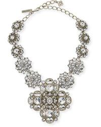 Oscar de la Renta Crystal Statet Necklace