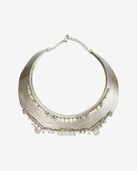Delphine Charlotte Partier Pearl Collar Necklace