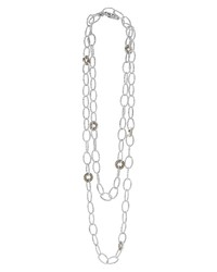 Lagos Enso Long Station Necklace