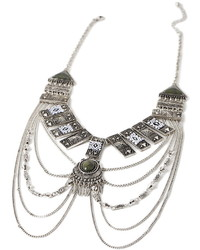 Forever 21 Etched Tribal Inspired Necklace