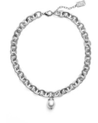 Karine Sultan Short Faux Pearl Collar Necklace