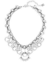 Dannijo Neptuna Oxidized Silver Plated Necklace One Size