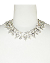 Cezanne Pyramid Points Rhinestone Statet Necklace
