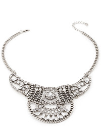 Forever 21 Rhinestone Statet Necklace