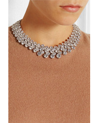 Rhodium-plated Cubic Zirconia Necklace - Silver Kenneth Jay Lane IAy3f