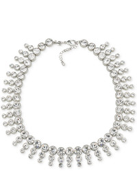 Carolee Silver Tone Collar Necklace