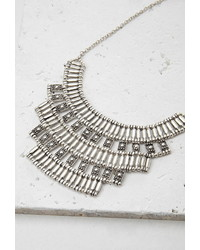 Forever 21 Tiered Tribal Inspired Necklace
