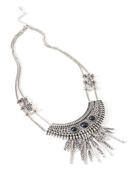 Forever 21 Tribal Inspired Bib Necklace
