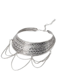 Forever 21 Tribal Inspired Collar Necklace