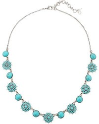 Lucky Brand Turquoise Collar Necklace Iii Necklace