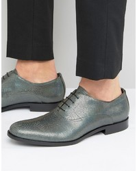 Hugo Boss Hugo By Sigma Snake Metalic Oxford Shoes