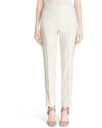 St. John Collection Emma Metallic Jacquard Crop Pants